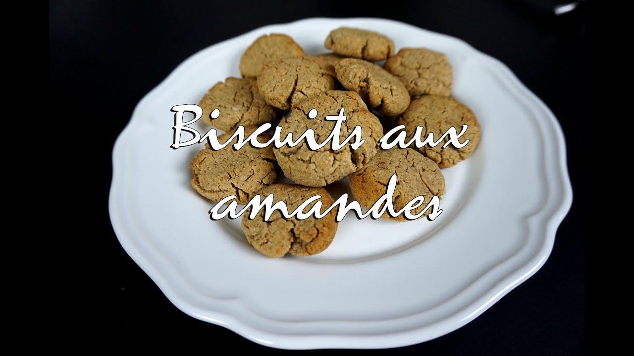 Biscuit gateau avec poudre d'amande