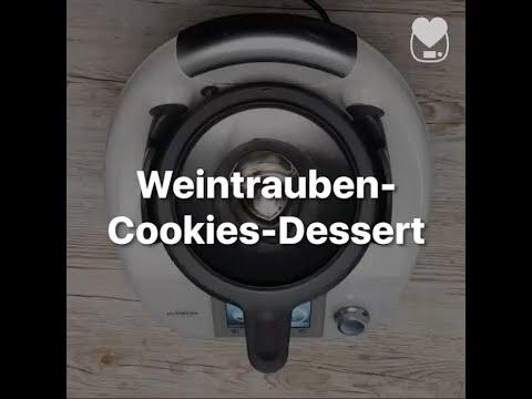 Cookie weintrauben dessert