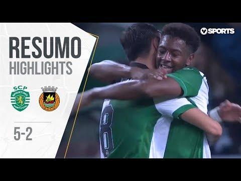 Highlights | Resumo: Sporting 5-2 Rio Ave (Taça de Portugal 18/19 1/8 Final)