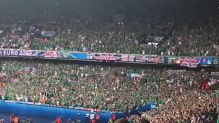болельщики Северной Ирландии покоряют сердца
