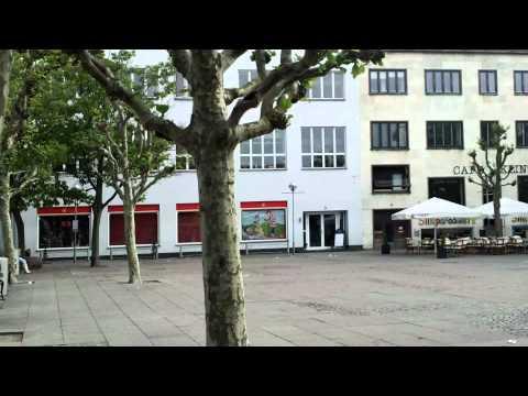 Square in Nykøbing Falster, Denmark, June 2012