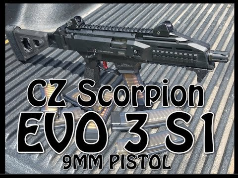 CZ Scorpion Evo 3 S1 (PART 1)