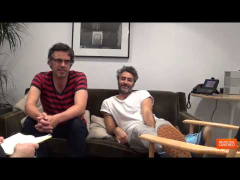 What We Do In The Shadows Interview With Jermaine Clement And Taika Waititi [HD]