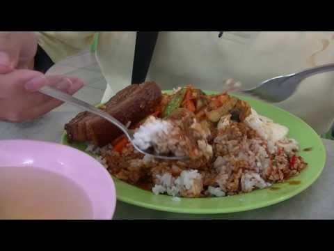 SUPER CREAMY EGG, Acar (Acar Awak), Boiled Pork Belly
