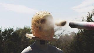 Potato Cannon vs. Human Head