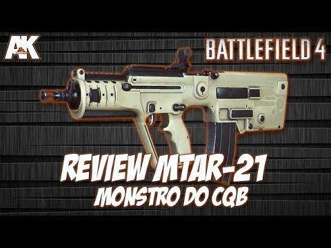 Battlefield 4: REVIEW MTAR-21: Monstro Do CQB