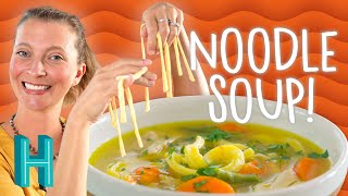 Baixar Homemade Chicken Noodle Soup (to cure what ails you!) - Hilah Cooking