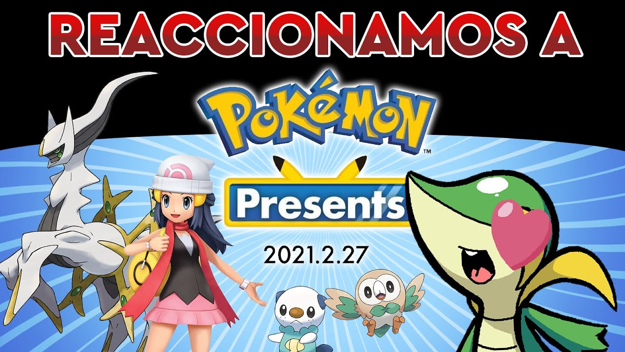 ¡REMAKE DE SINNOH! Reaccionando al Pokémon Direct - 26/02/2021