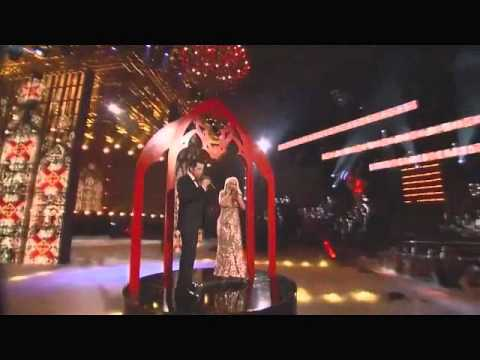 Christina Aguilera & Chris Mann- The Prayer (Live) HD