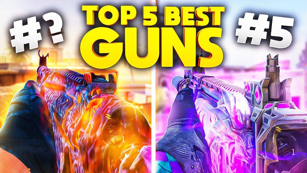TOP 5 BEST GUNS in COD Mobile Official (Season 3)