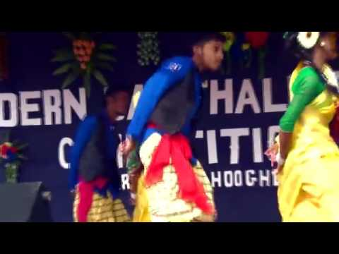 Aam Ma Bajar Kuri, Inj Ma Desi Kora  Santali Dance Compitition Khamargachi HD  2016   YouTube