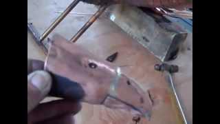Constuction Of A Copper Eagle Part #6