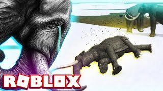 Roblox :( Steppe Mammoth - Wild Animals Let's Play
