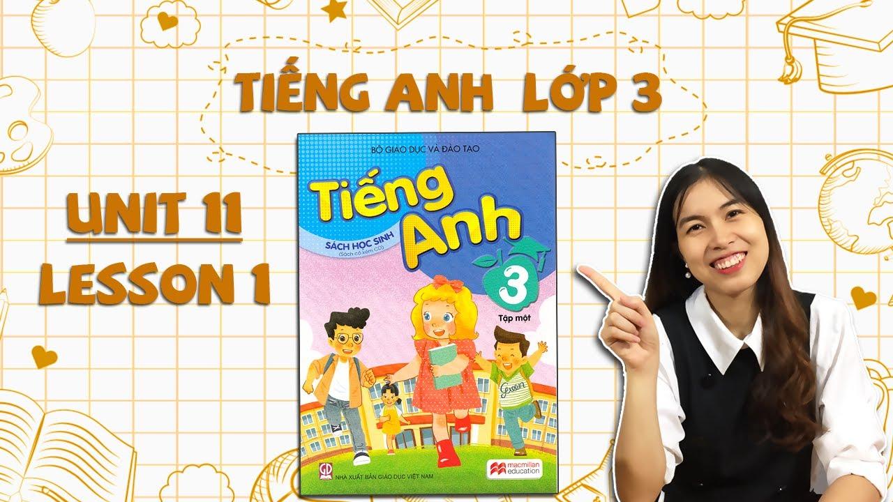Học tiếng Anh lớp 3 – HỌC KÌ 2 – Unit 11. This is my family – Lesson 1 – THAKI