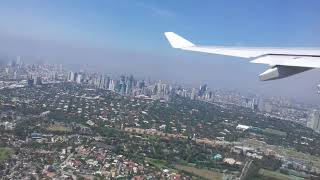 PHILIPPINE AIRLINE DEPARTURE FROM MANILA TO DUBAI
