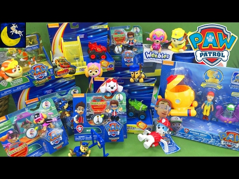 Sneak Peek at Growing Little Ones New Paw Patrol Mission Paw Weebles Bath Chase Toys