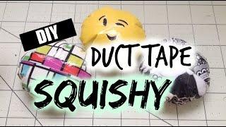 DIY Duct Tape Squishy Tutorial! | Alyssa