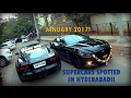SUPERCARS IN INDIA (Hyderabad) - JANUARY 2017