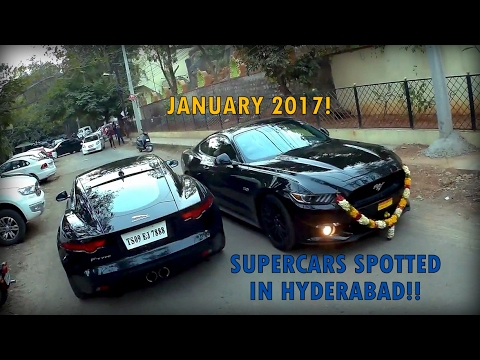 Supercars In India Hyderabad January Youtube