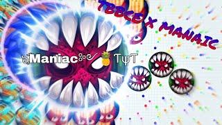 Agar.io - LEGENDARY *UNCUT* W/ TYT Maniac & TYT TBBCE ! // AGAR.IO UNCUT GAMEPLAY