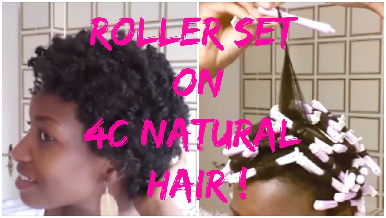 How to roller set natural hair natural hairstyles for short hair how to roller set natural hair natural hairstyles for short hair natural hairstyle for black women youtube urmus Gallery