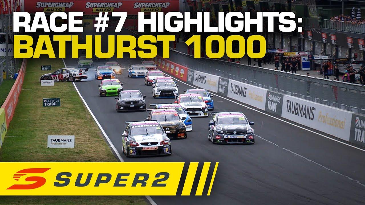Highlights: Race #7 - Supercheap Auto Bathurst 1000 | Super2 2020