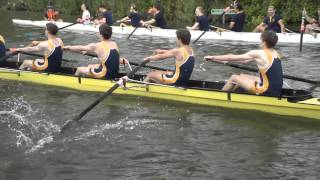 Anglia Ruskin M1, May Bumps 2015 slow motion [oarstack]