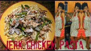 HOW TO: Make Jerk Chicken Alfredo Pasta & Alfredo Sauce (Requested)...Bahama Breeze Inspired Dish Thumbnail