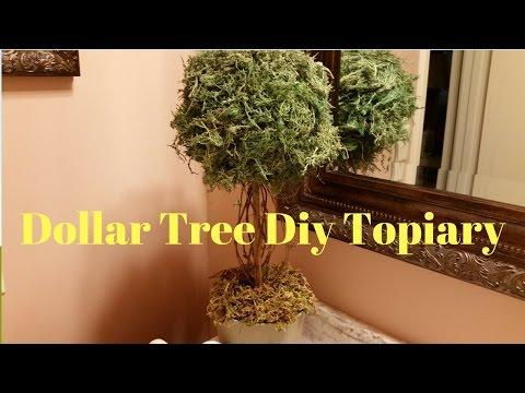 Dollar Tree Diy Topiary