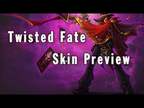 Twisted Fate Model Remake - Magnificent Skin Preview - YouTube