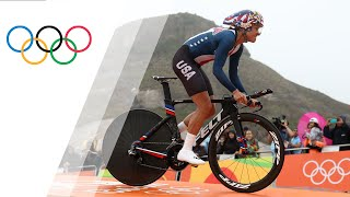 Video USA's Armstrong wins gold in Women's Road Cycling Time Trial download MP3, 3GP, MP4, WEBM, AVI, FLV Agustus 2018