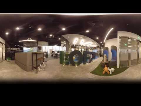 LOFT's Singapore Lab 360° Video Tour