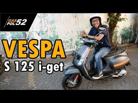 VESPA S 125 I Get | Tampil Sporty Dan Klasik Sekaligus