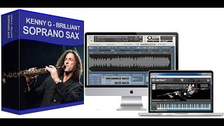 Kenny G - Silhouette - Brilliant Soprano Sax - Native Instruments - AKAI EWI USB