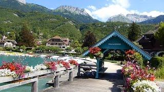 Talloires, la perle du lac d'Annecy HD