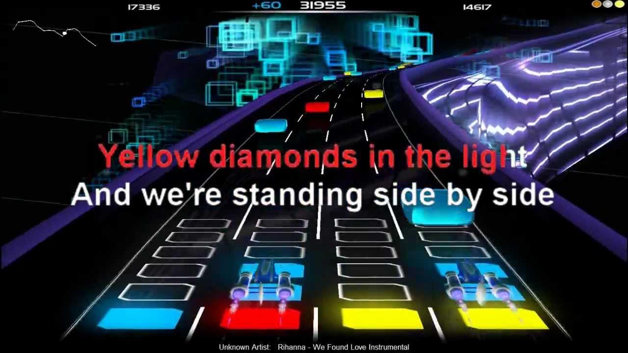 Karaoke We Found Love - Video with Lyrics - Rihanna