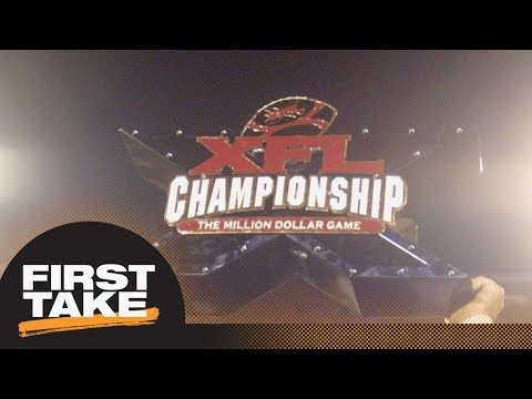 First Take debates if XFL is a threat to NFL dominance | First Take | ESPN