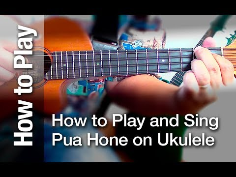 """How to Play and Sing """"Pua Hone"""" on The Ukulele - YouTube"""