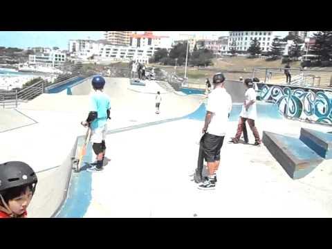 Skating @ Bondi Beach / Sydney