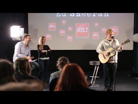 Ed Sheeran - Shape Of You (live) dans le Drive RTL2