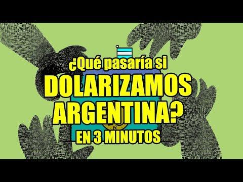 ¿QUÉ PASARÍA SI DOLARIZAMOS ARGENTINA? (explicado En 3 Minutos)