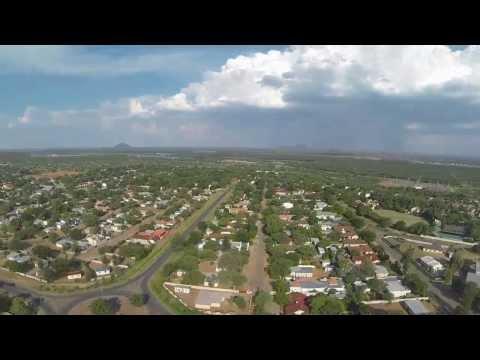 drones video test, Gaborone, Botswana