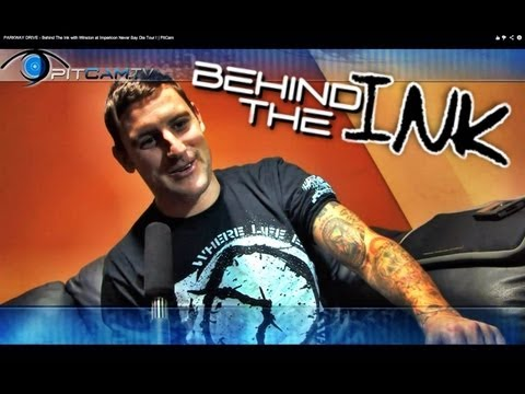PARKWAY DRIVE - Behind The Ink with Winston Winston McCall @ Impericon Never Say Die Tour !