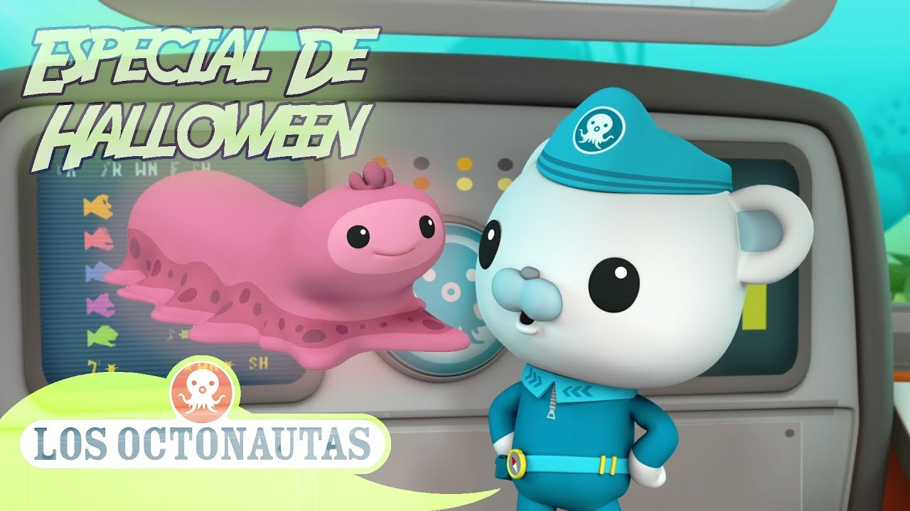 Los Octonautas Oficial en Español - El Pepino De Mar Mocoso | La Zona De Media Noche