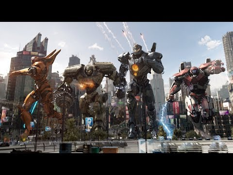 6 NEW Pacific Rim 2 Uprising CLIPS + Full onlines