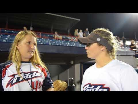 USSSA Pride's Jessie Warren Talks About Hitting Her first Home Runs