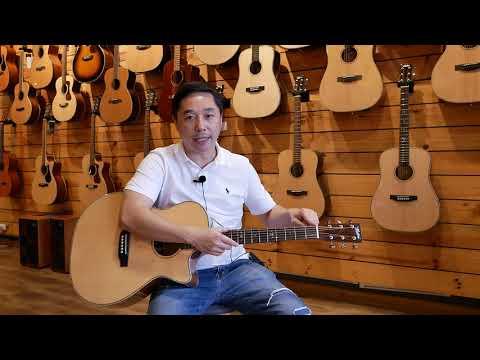 """""""Acoustic Guitar 101"""" EP. 1 ส่วนประกอบต่างๆของกีต้าร์ เรียกว่าอะไรกันบ้าง?"""