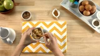 Banana Oatmeal Baby Food Breakfast Recipe - From Plum Organics