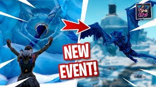 🔥 NEW POLAR PEAK GODZILLA EVENT COMING SOON | TAKARA SKIN GAMEPLAY | Fortnite LIVE
