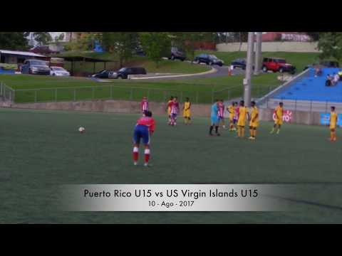 Puerto Rico U15 vs US Virgin Islands U15 - Goals